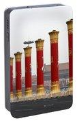 Pillars At Tiananmen Square Portable Battery Charger