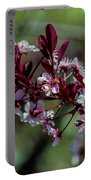 Pin Cherry Blossoms Portable Battery Charger
