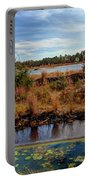 Pine Barrens Bog In New Jersey Portable Battery Charger