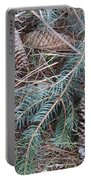 Pine Cone Brush Portable Battery Charger
