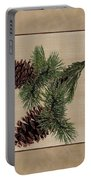 Pine Cone Design Portable Battery Charger