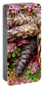 Pine Cones Art Print Botanical Garden Baslee Troutman Portable Battery Charger
