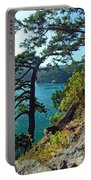 Pine Over The Bay Portable Battery Charger