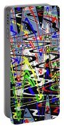 Pine Tree Abstract ,3448wt Portable Battery Charger
