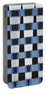 Pine Tree Abstract #7213w Portable Battery Charger