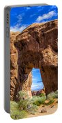 Pine Tree Arch Portable Battery Charger