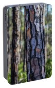 Pine Tree Bark Portable Battery Charger