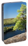 Pine Tree With A View Portable Battery Charger