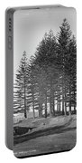 Pine Trees Portable Battery Charger