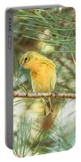 Pine Warbler Portable Battery Charger