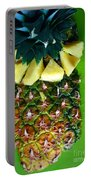 Pineapple Art Portable Battery Charger