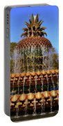 Pineapple Fountain Charleston Sc Portable Battery Charger