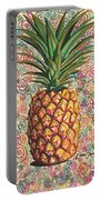 Pineapple Pattern Portable Battery Charger