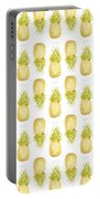 Pineapple Print Portable Battery Charger