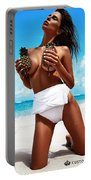 Pineapples Portrait Portable Battery Charger