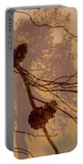 Pinecone Overlay Bright Horizontal Portable Battery Charger