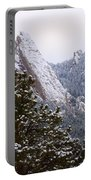 Pines And Flatirons Boulder Colorado Portable Battery Charger