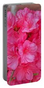 Pink Azalea Blooms 2 Portable Battery Charger