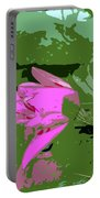 Pink Beauty Work Number 8 Portable Battery Charger