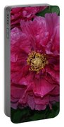 Pink Bloom Peony Tree Portable Battery Charger