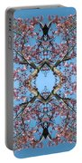 Pink Blossom Mandala Portable Battery Charger