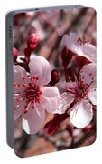 Pink Blossoms 033014c Portable Battery Charger