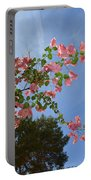 Pink Bougainvillea Portable Battery Charger