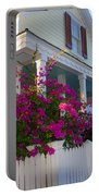 Pink Bougainvilleas Portable Battery Charger