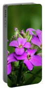 Pink Bouquet  Portable Battery Charger