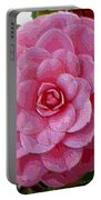 Pink Camellia Dream  Portable Battery Charger