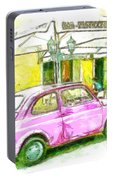 Pink Car Portable Battery Charger