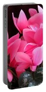 Pink Cyclamen 2  Portable Battery Charger