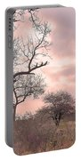 Pink Clouds Portable Battery Charger