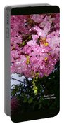 Pink Crystals Portable Battery Charger