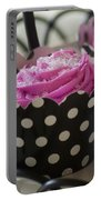 Pink Cupcake Portable Battery Charger