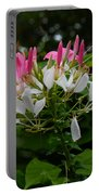 Pink Explosion Of Spring Portable Battery Charger