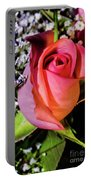 Pink Eye Rose Portable Battery Charger