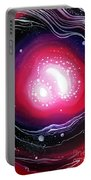 Pink Flash Of Energy. Sweet Dreams. Astral Vision Portable Battery Charger