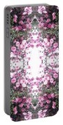 Pink Flower Sky Window Portable Battery Charger