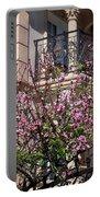 Pink Flower Tree. Elegant Portable Battery Charger
