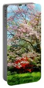 Pink Flowering Dogwood Portable Battery Charger