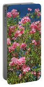 Pink Flowering Shrub Portable Battery Charger