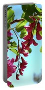 Pink Flowers Virginia City Nv Portable Battery Charger