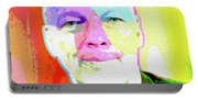 Pink Floyd 3773,gilmour By Nicholas Nixo Efthimiou Portable Battery Charger