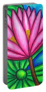 Pink Gem 1 Portable Battery Charger