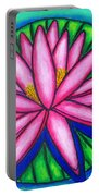 Pink Gem 2 Portable Battery Charger