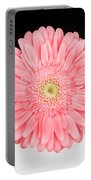 Pink Gerbera Portable Battery Charger