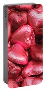 Pink Heart Chocolates I Portable Battery Charger