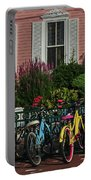 Pink House Bikes Cape May Nj Portable Battery Charger