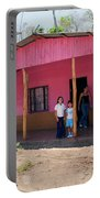 Pink House In Costa Rica Portable Battery Charger